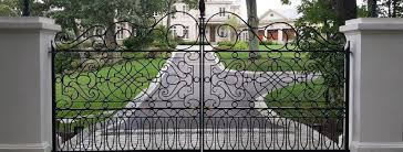 autogate systems custom ornamental iron gates
