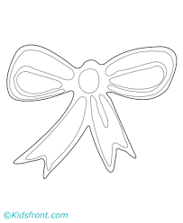 printable ribbon ribbon coloring pages