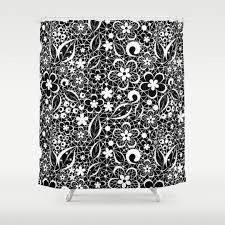 White Lace Shower Curtain by Whitelace Shower Curtains Society6