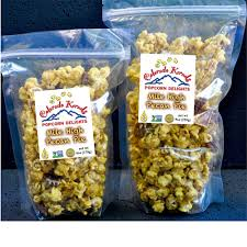 delight mile high pecan pie popcorn individual large 10 oz gift bag