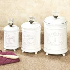 white kitchen canister ceramic kitchen canister sets 4 piece ceramic mason jar canister