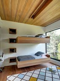Wall Bunk Beds Wall Mounted Bunk Bed Houzz