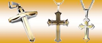 man gold cross necklace images Cross necklaces for men buying gold cross jewelry JPG