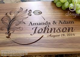 wedding gifts engraved corporate gifts ideas personalized cutting board engraved