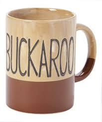 cowboy living buckaroo rustic stoneware mug zulily