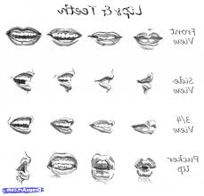 sketch step by step how to draw lips step step with pencil pencil