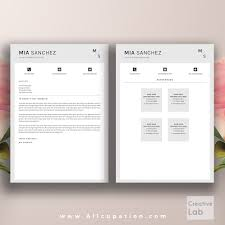 simple professional resume template creative resume template cover letter word modern simple creative resume template