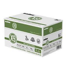 boise x 9 multi use copy paper letter size paper 20 lb white fsc
