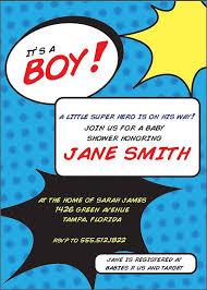 superhero baby shower invitations templates ideas u2014 all