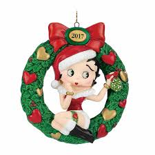 the 2017 annual betty boop ornament the danbury mint