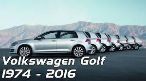 golf volkswagen volkswagen golf evolution 1974 2016 youtube