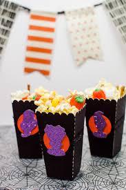 popcorn for halloween diy halloween popcorn bags