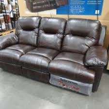 pulaski leather reclining sofa furniture vivacious pulaski sofa costco for your residence