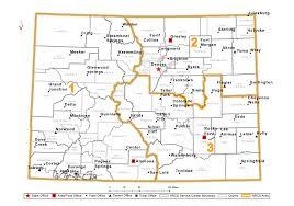 Colorado Snowpack Map Local Service Centers Nrcs Colorado