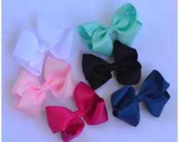 big bows for hair big hair bows etsy