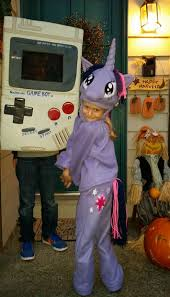 Game Boy Halloween Costume Pony Twilight Sparkle Costume 8 Steps Pictures