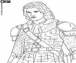 prince caspian coloring printable game