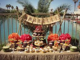 luau birthday party aloha hawaiian luau birthday party