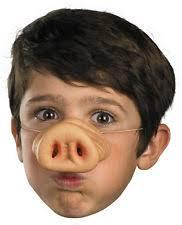 Halloween Costumes Pig Costume Pig Nose Ebay