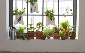 how to make hanging garden textile pockets