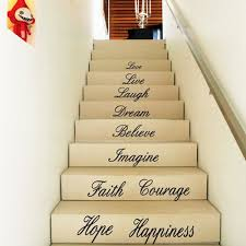 compare prices on love wall online shopping buy low price love removable water resistant decals english love wall posters sticker room step decor pvc wall stickers