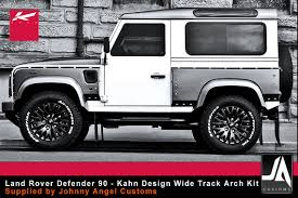 kahn land rover defender johnny angel customs bodykits and vehicle wrapping range rover
