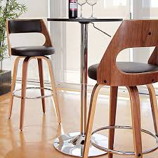 Counter Height Swivel Bar Stool Counter Height Bar Stools Kitchen Swivel Pub Wood Back Walnut