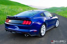 Blue And Black Mustang Vwvortex Com Here Is Saleen U0027s First