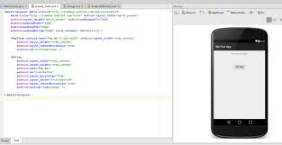 android studio button writing your android app everything you need to