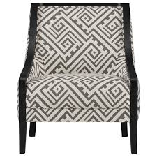 Accent Chairs Black And White City Furniture Tribeca2 Multi Fabric Accent Chair