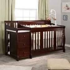 Cribs With Changing Tables Sorelle Princeton 4 In 1 Convertible Crib Changer Espresso C