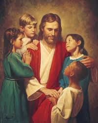 Image Of Christ by Christ And Children From Around The World Christ With Children