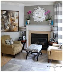 my abstract painting grey curtains living rooms and room