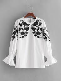 dressy white blouses shein fashion shop de shein sheinside sale