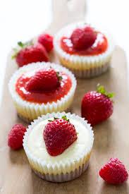 Cheesecake Decoration Fruit Mini Cheesecake Cupcakes