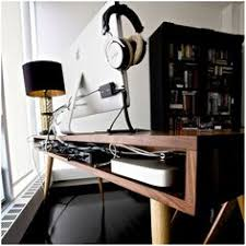 Desk With Cable Management by The Latest Minimalist Collection From Artifox 39 Feature And