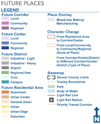Denver Neighborhoods Map Blueprint Denver Future Places Map