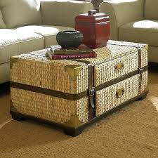 round rattan side table rattan and glass coffee table image of rattan coffee table glass top
