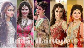 latest bridal hairstyle 2016 new trend of bridal hairstyles for wedding girls 2016