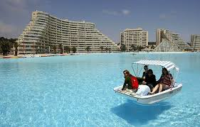 the largest swimming pool in the world twistedsifter
