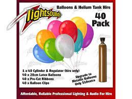balloon helium tank 40 balloons helium tank