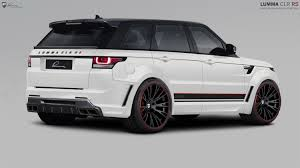 range rover truck black lumma design range rover sport clr rs delivers more on road