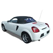 brand new toyota toyota mr2 spyder spider convertible soft top u0026 glass window black