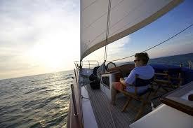 Sailboat Sun Awnings Sailing Yacht Sarissa Al Fresco Dining On Deck U2013 Luxury Yacht