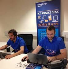 What Does A Help Desk Person Do Contact The Ict Service Desk Administration And Support Services