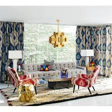 Jonathan Adler Curtains Designs Bel Air Gorge Green Vase Modern Decor Jonathan Adler