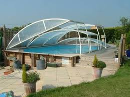 glass house with pool interior design ideas a smooth white facade