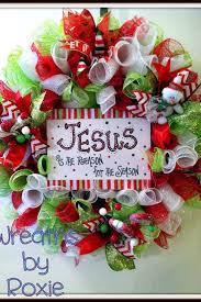 wreath jesus is the reason for the season wreaths by
