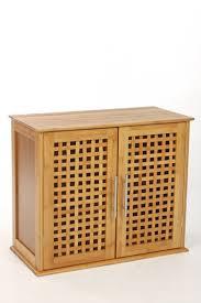 meubles en bambou meuble à fixer au mur 2 portes en bambou amazon fr cuisine u0026 maison