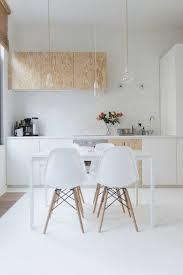 table blanche cuisine cuisine blanc laque avec ilot modern aatl bois et newsindo co
